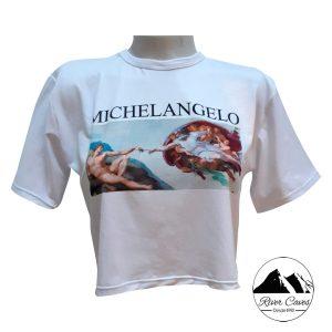 camiseta michelangelo