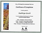 Certified for Design and Installation of Eco-Roofs