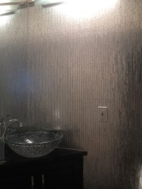 Edmonton Tile Install : Bathroom Jazz Glass Pizzaz | River ...