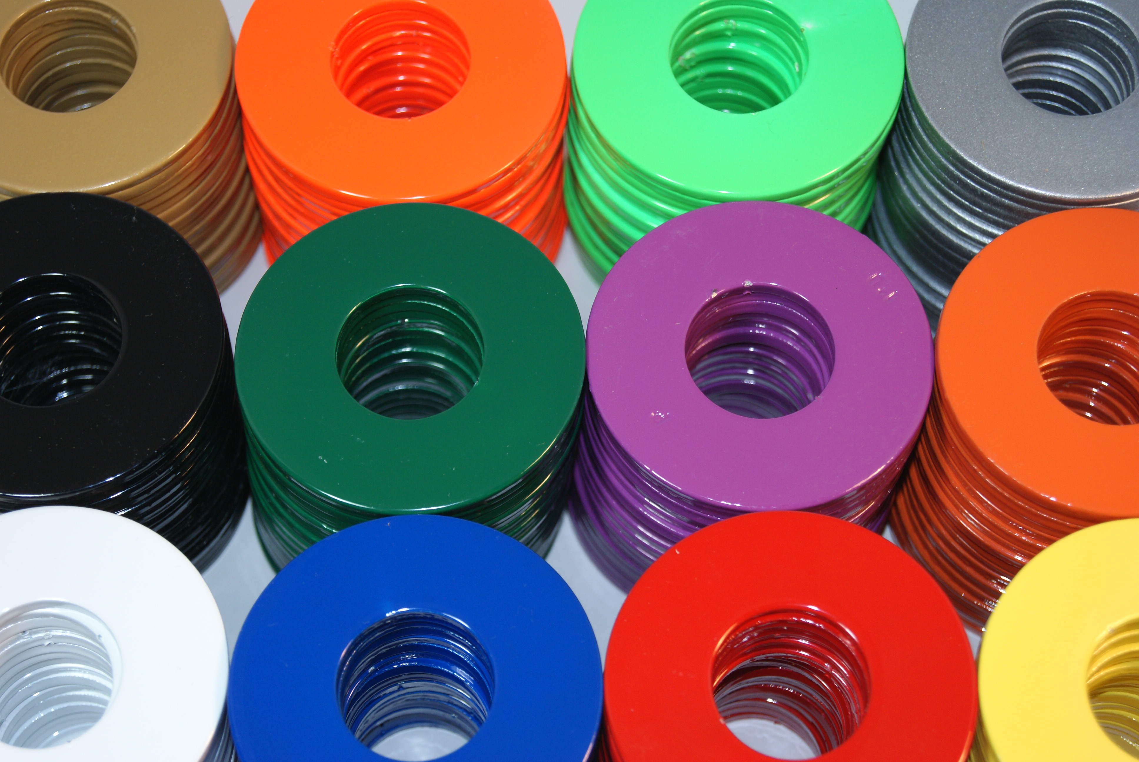 How To Paint Washers For Washer Toss