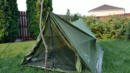 Backpacking Tent without Polls