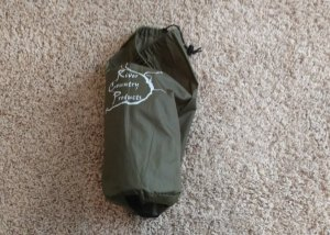 Step 7 folding backpacking tent A