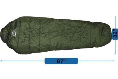sleeping bag, Pad, Pillow