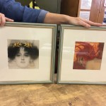 A sample of pictures framed in a RHACC workshop