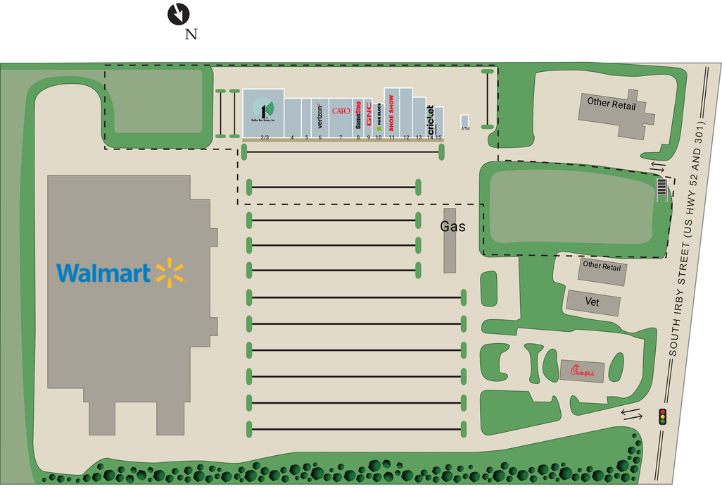 Florence Sc Southside Commons  Retail Space For Lease
