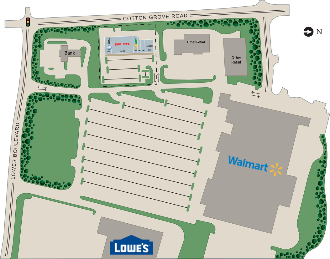 Lexington Nc Lexington Shopping Center  Retail Space For