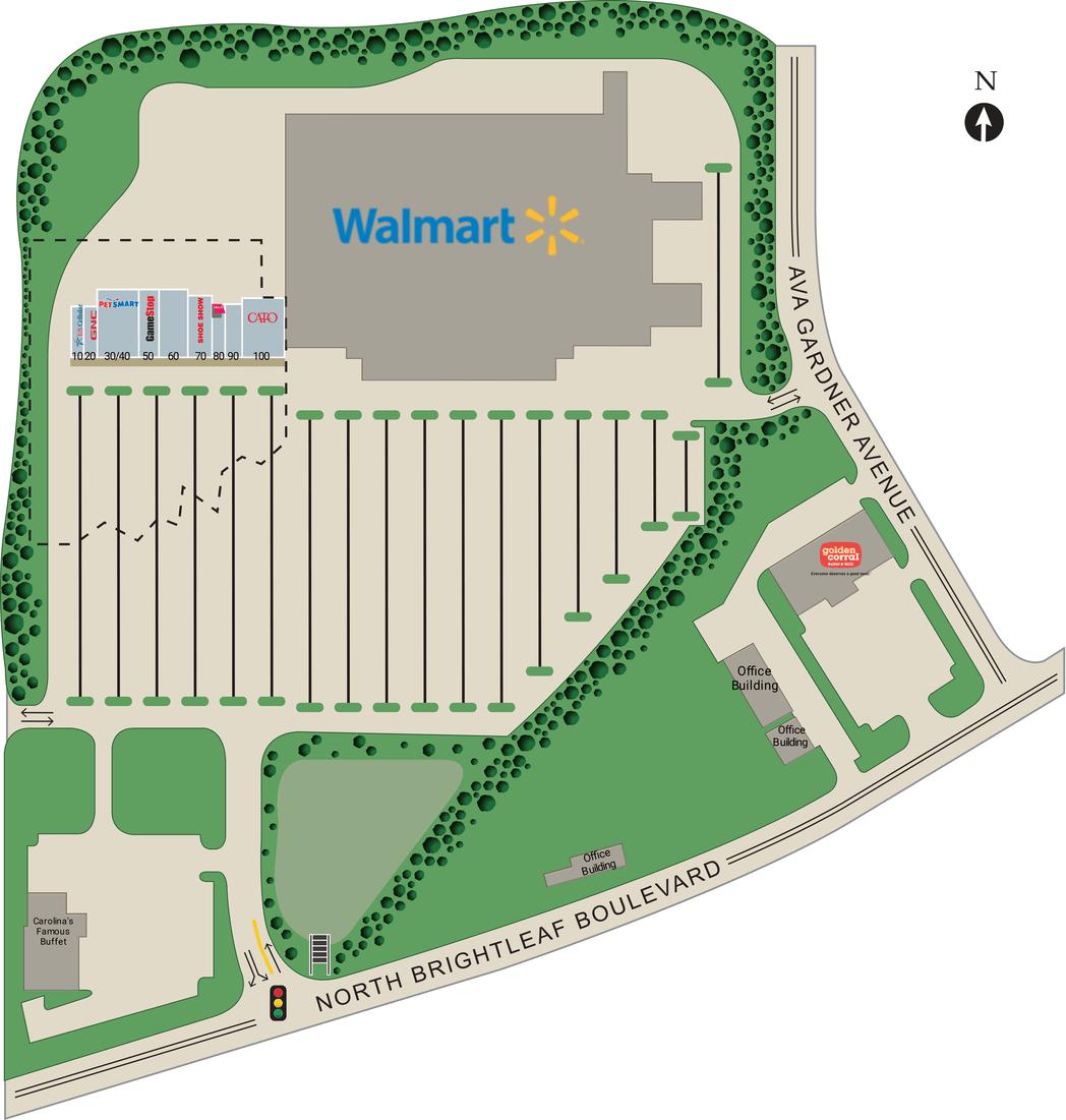 Smithfield Nc Smithfield Plaza  Retail Space For Lease