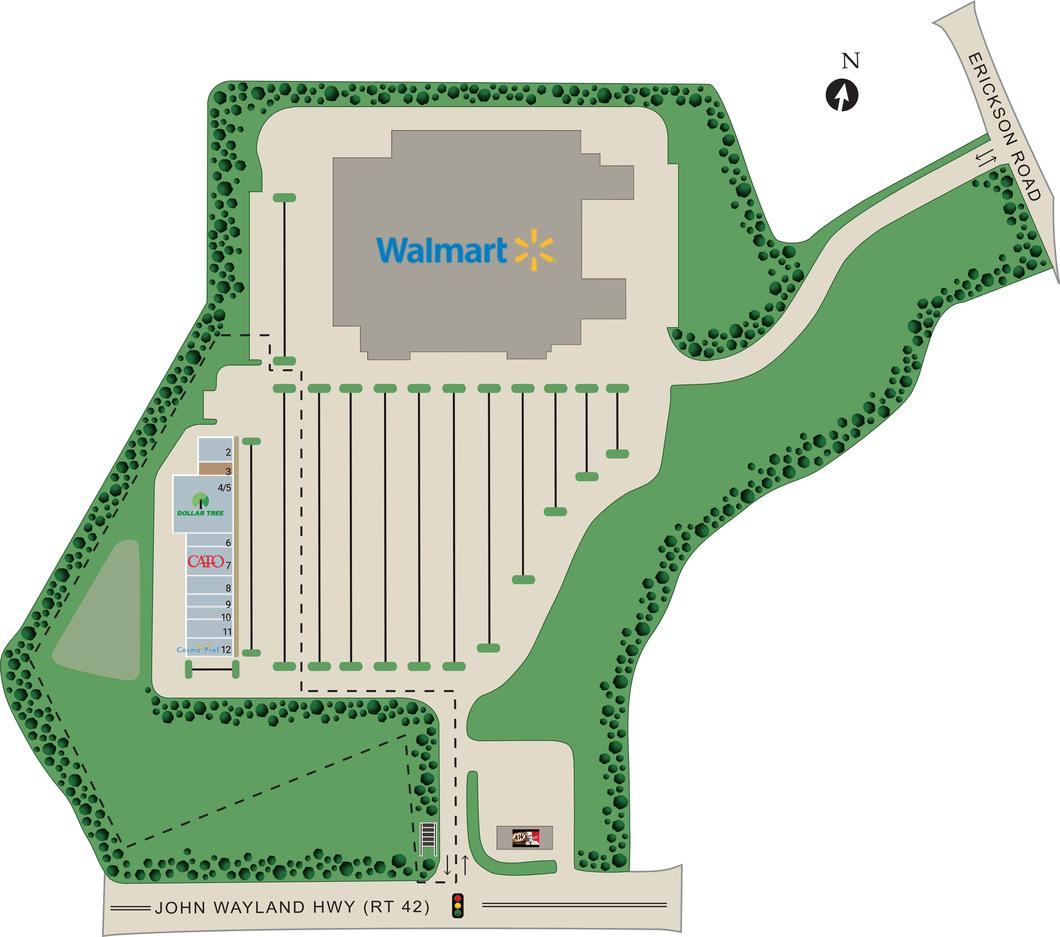 Harrisonburg Va Garber's Crossing  Retail Space For