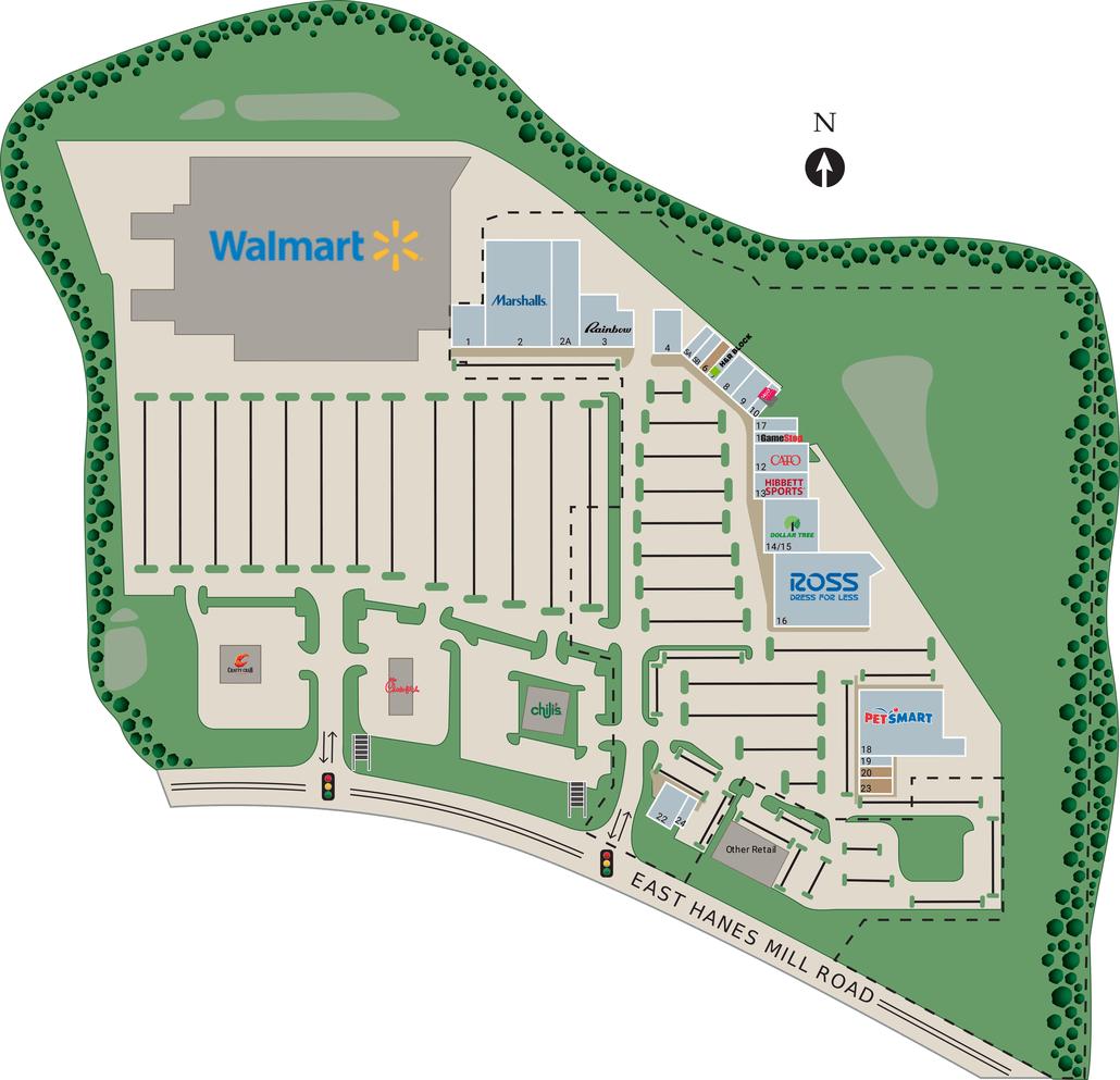 Winstonsalem Nc Oak Summit Shopping Center  Retail
