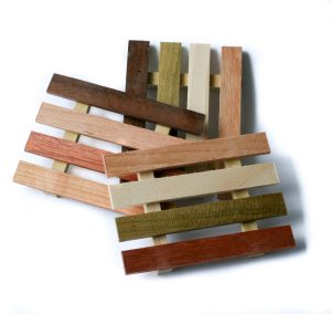 Product image for reclaimed wood soap dish