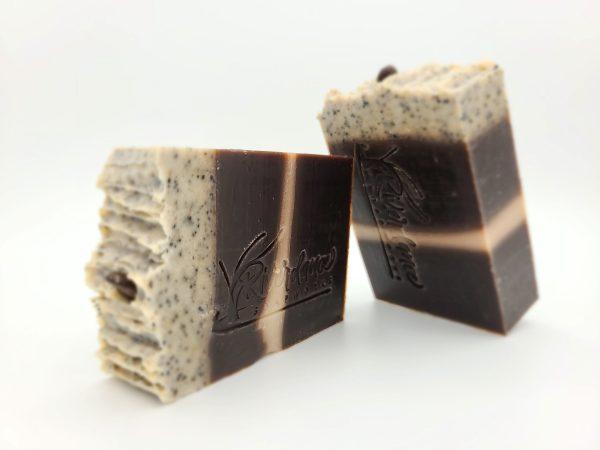 5 am mocha soap product image.