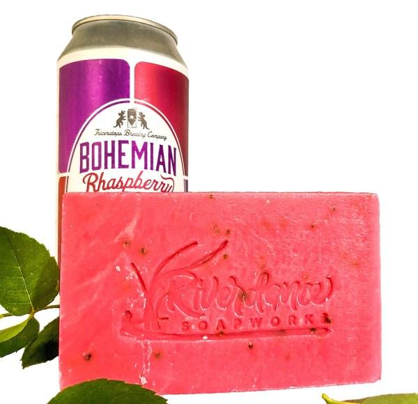 Raspberry Ale Soap