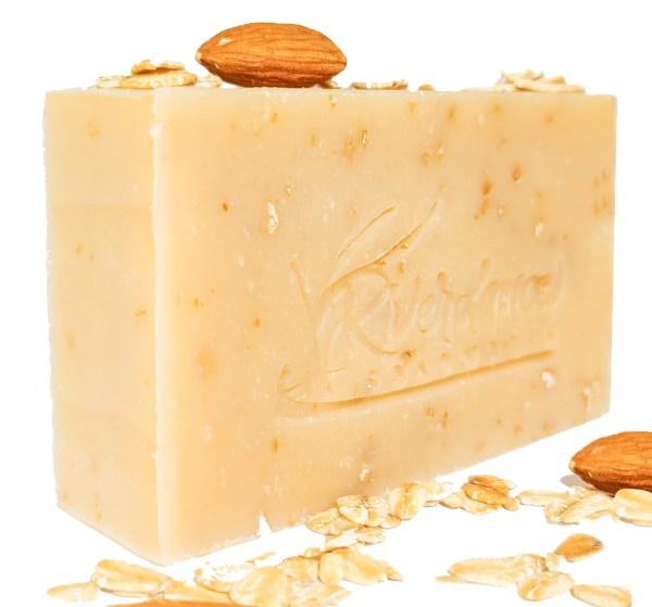 almond oatmeal goat milk side image