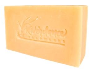 Black Amber and Oak full-body soap