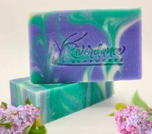 Winter Daphne soap product image