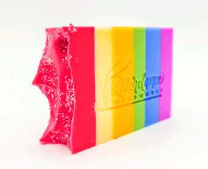 rainbow love soap product image