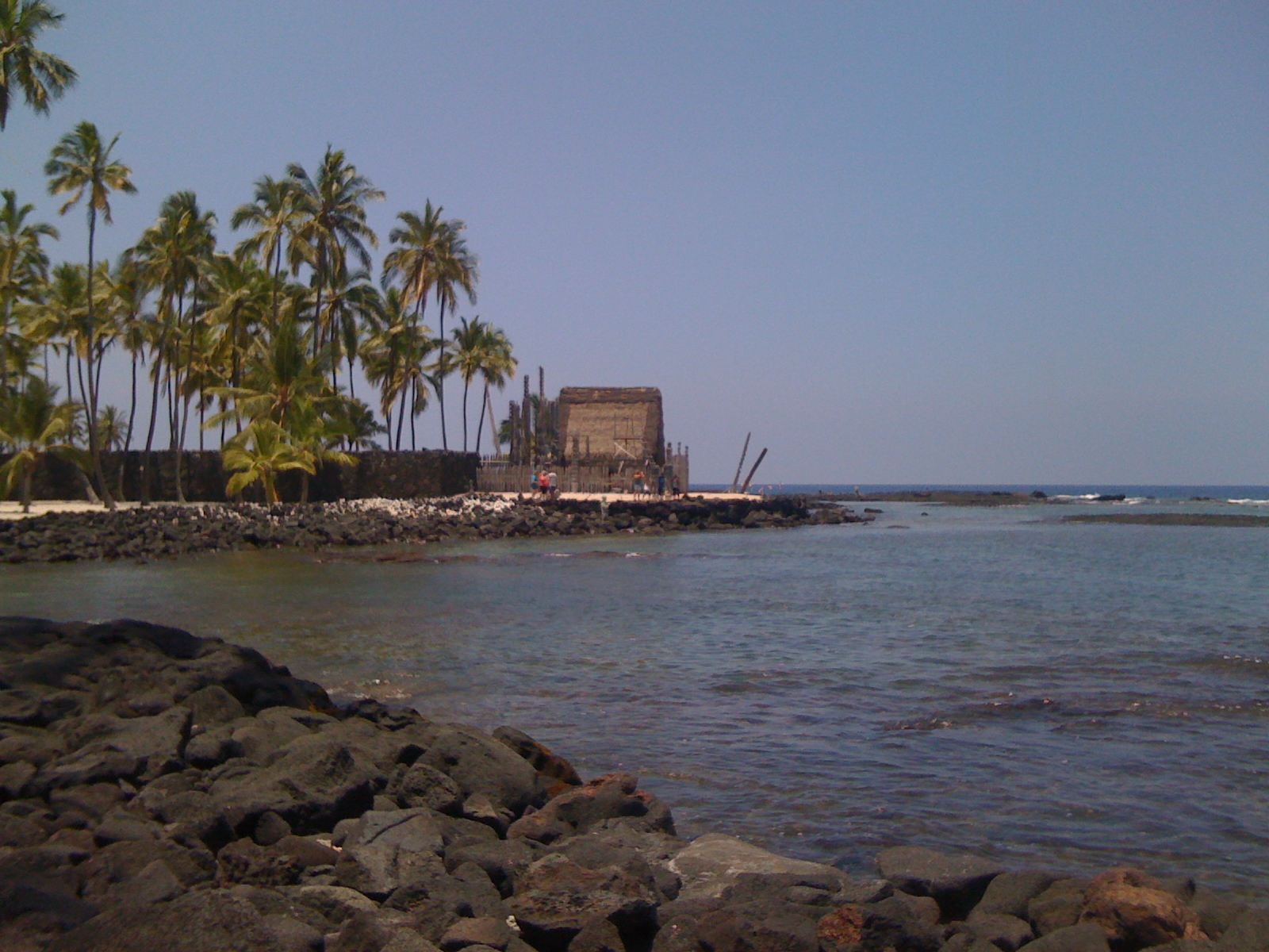 My little grass shack, Pu'uhonua