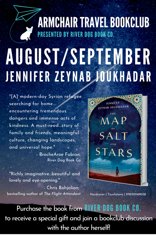 Aug-Sept 2018 Bookclub Cover - The Map of Salt and Stars