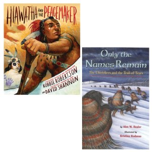 Native American historical fiction picture books