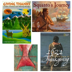 Thanksgiving books by Native authors