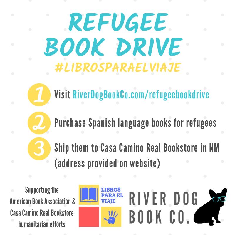 Refugee Book Drive