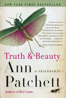 Truth & Beauty by Ann Patchett book cover