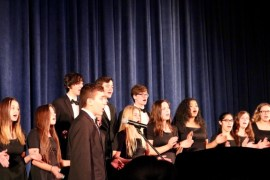 "Riverhead High School Chamber Choir performs ""Gloria."""