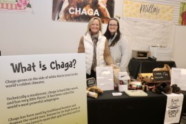Debbie Falborn, left, owner of Chaga.