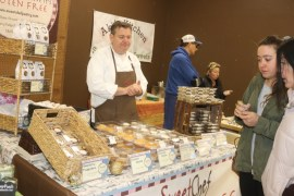 Sweet Chef owner Bob Champey, talks about his gluten-free pastry creations.