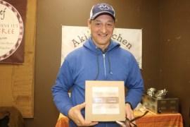 Robert Curreri of Robert's Bakestand, producer of chocolate truffle bars.