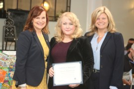 Councilwoman Catherine Kent, Lisa Dabrowski and Councilwoman Jodi Giglio