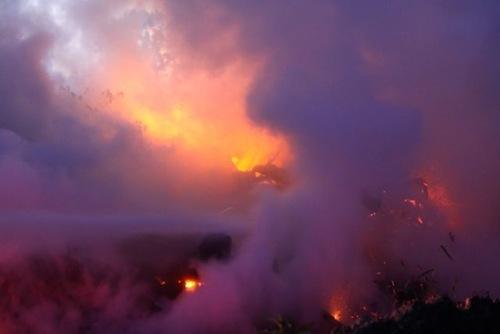 2013 0918 mulch fire