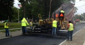 Riverhead highway crews will be paving local roadways June 26 and 27. (File photo: Peter Blasl)
