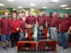 Talmage Farm Agway employees