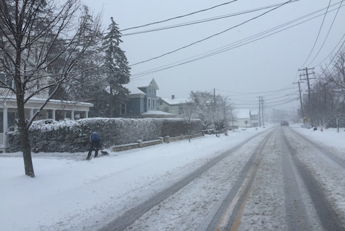Snow slowing for many, icy roads still possible
