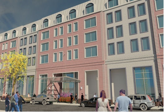 Architectural rendering by Stephen B. Jacobs Group PC