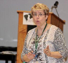 ''I am the victim,' board president Kathy Berezny said. Photo: Denise Civiletti