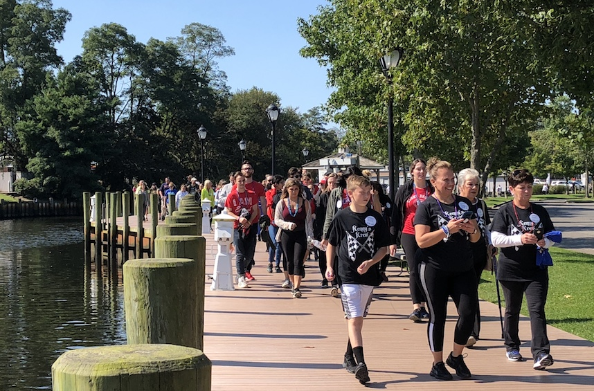 Hundreds turn out for suicide-prevention walk in downtown Riverhead