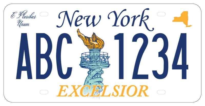 Returning Plates To Dmv Ny >> New Yorkers Asked To Pick New License Plate Design In Online