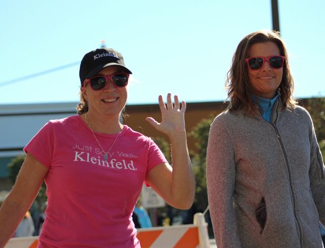 Stephanie Ehrlein of Port Jefferson and Jenn Dixson of Middle Island.