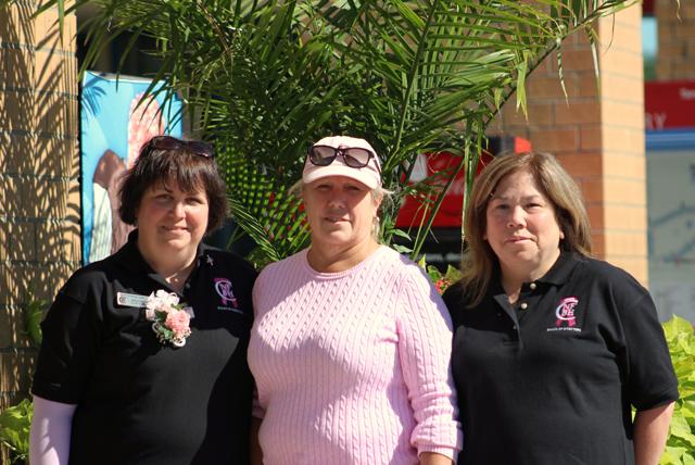 North Fork Breast Health Coalition officers: Susan Ruffini, president; Susan Bandiea, treasurer; and Annie Baulch, secretary.