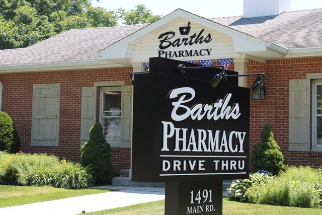 Barth's Pharmacy in Jamesport