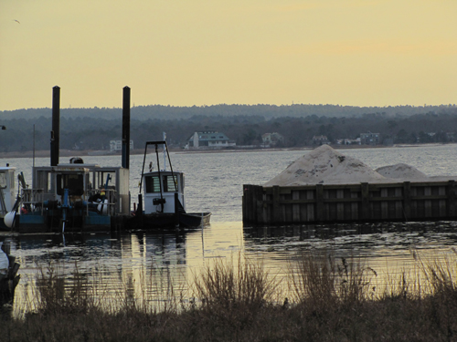 Cases Creek dredged