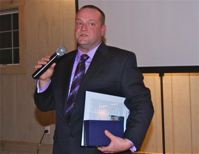 The 2014 News-Review Educator of the Year: Riverhead High School science teacher Greg Wallace. (Credit: Barbaraellen Koch)