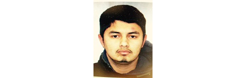 The suspect: Manuel (Credit: Suffolk Police)