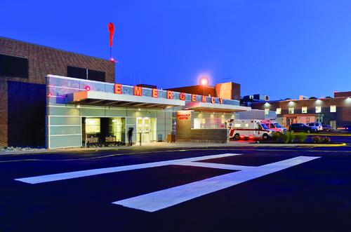 Peconic Bay Medical Center's emergency room. (Credit: Jim Lennon courtesy photo)