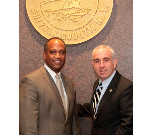 COURTESY PHOTO | Presiding Officer DuWayne Gregory and Deputy Presiding Officer Jay Schndierman.