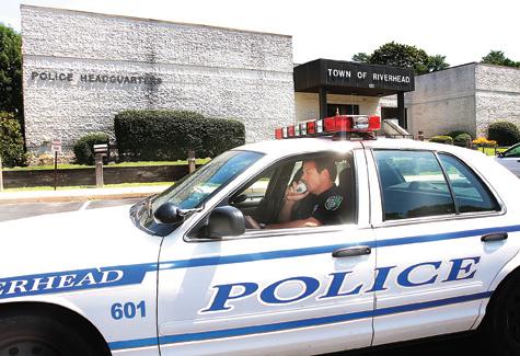 Riverhead police. (Credit: Barbarellen Koch, file)