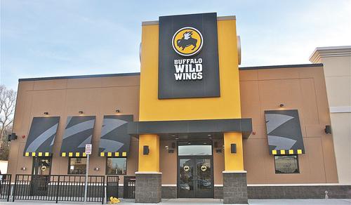 BARBARAELLEN KOCH PHOTO | Buffalo Wild Wings will open on Friday.