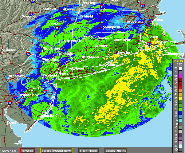 (Credit: National Weather Service radar)